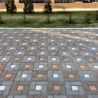 Тротуарная-плитка-Брусчатка