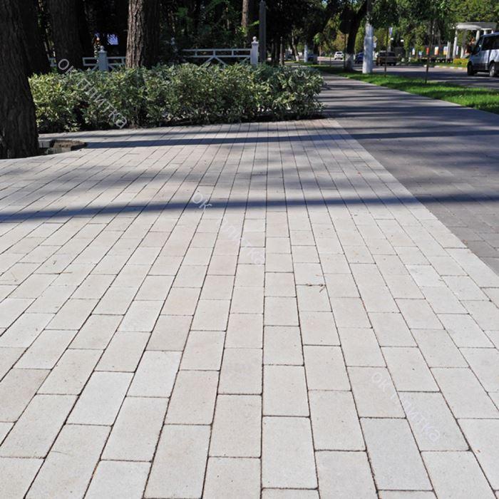 Тротуарная плитка Кирпич без фаски