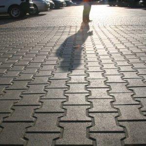 Тротуарная плитка Двойное Т